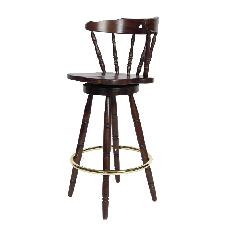 Colonial Wood Bar Stool Seating Depot