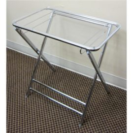 lucite folding table
