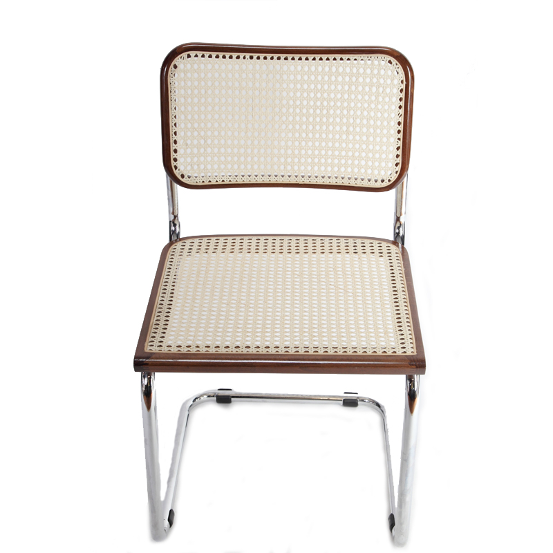 5a00aa8d99 Breuer Metal Chair with Cane Seat and Back – Seating Depot