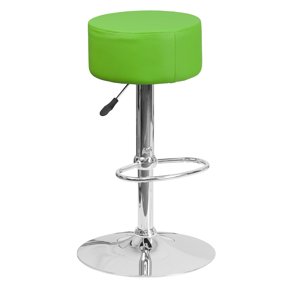 Bella Backless Stool With Chrome Base Seating Depot