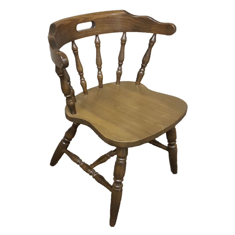 Colonial Wood Chair Walnut Seating Depot